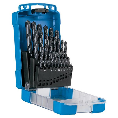25pc Jobber Drill Set - Blue Bullet - Metric