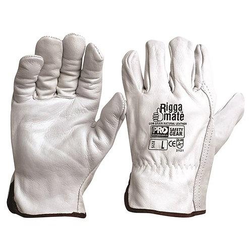 Natural CowGrain Gloves - XL