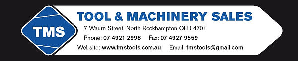 Tool and Machinery Sales Banner