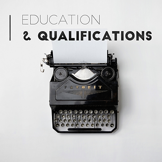 typewriter, education, qualifications, A.Gulvin Translation