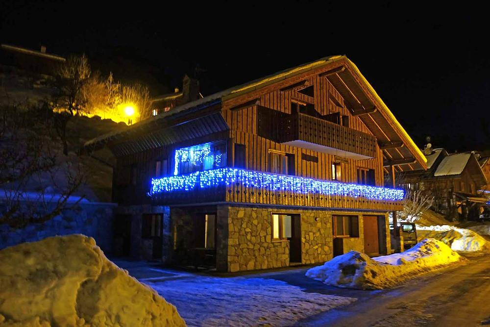 Christmas Ski Chalet Meribel