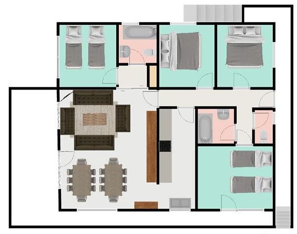 Floor Plan Chalet Josephine