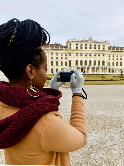 Vienna Schoenbrunn Palace Visitor