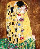 Vienna Gustav-Klimt The-Kiss