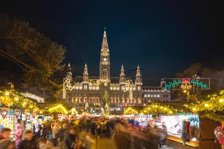 Vienna Cityhall Christmas-Market