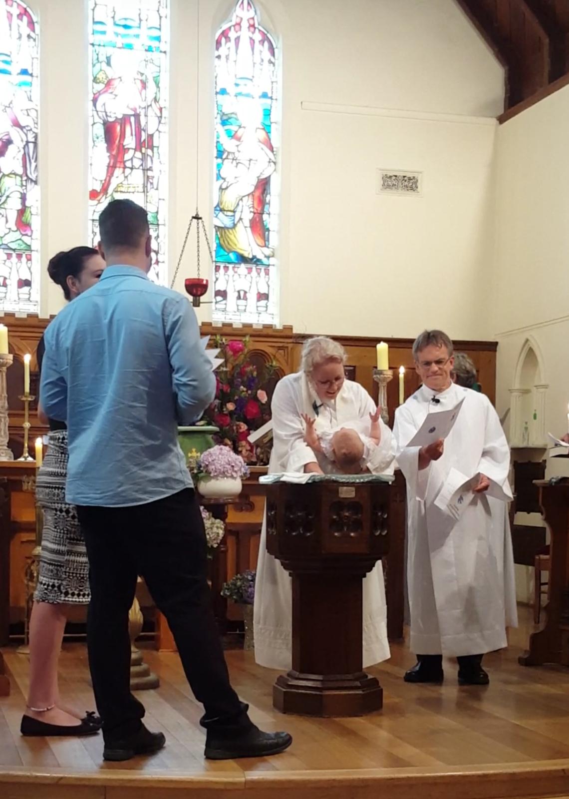 Baptism Jan 31 2016