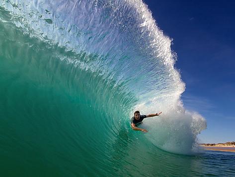 Bodysurf - O jacarezinho na praia ficou sério