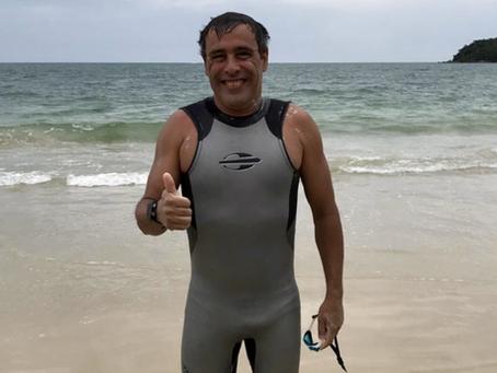 Brasileiro é eleito o maior nadador de águas abertas do mundo