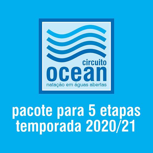Circuito Ocean - Pacote 5 etapas