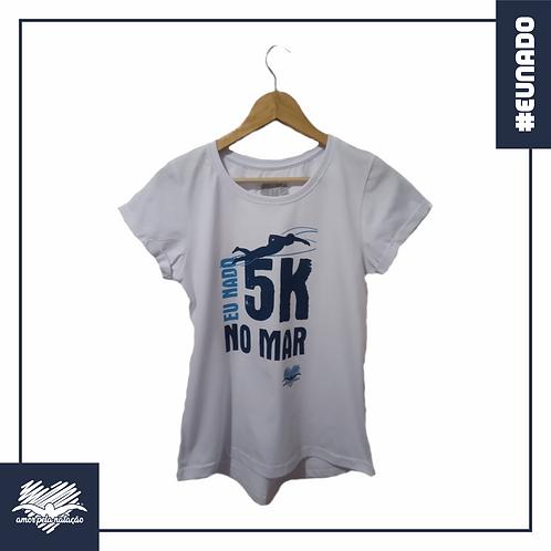 Baby Look - Eu Nado 5K No Mar