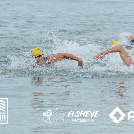 Ritmo de prova na natação em águas abertas