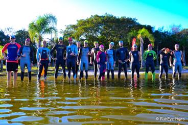 Treinão na Lagoa do Peri