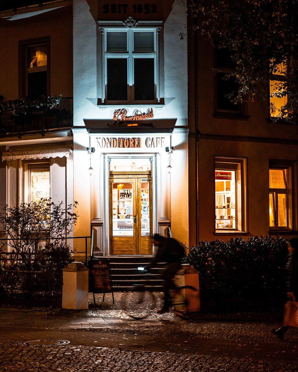 Buchenwald cafe in Moabit, Berlin.