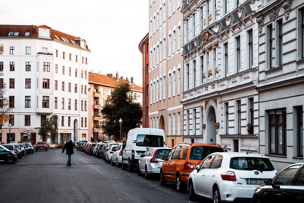 Quiet Street in Moabit, Berlin