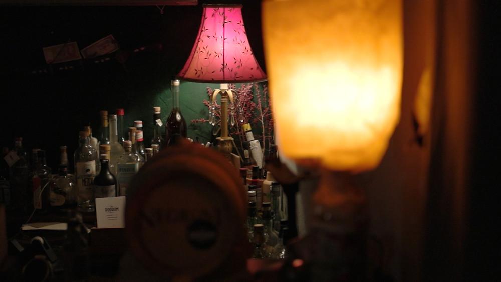 ©ChristopherLarson - Inside Podrum Spirit Shop, Moabit Berlin