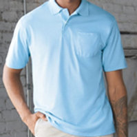 Jerzees 436MP SpotShield 50/50 Sport Shirt with a Pocket