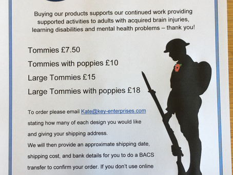 Tommies available to order
