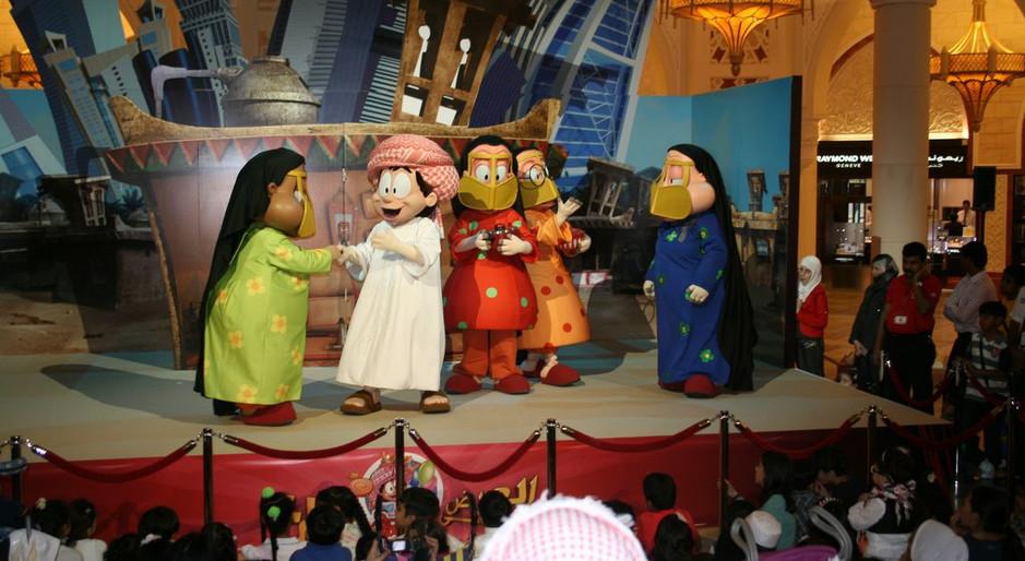 FREEjLiveStageShowDubaiMallEID2010Image6