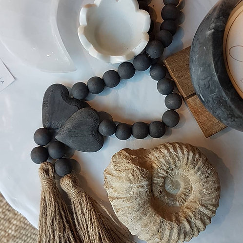 BLESSING BEADS CHARCOAL