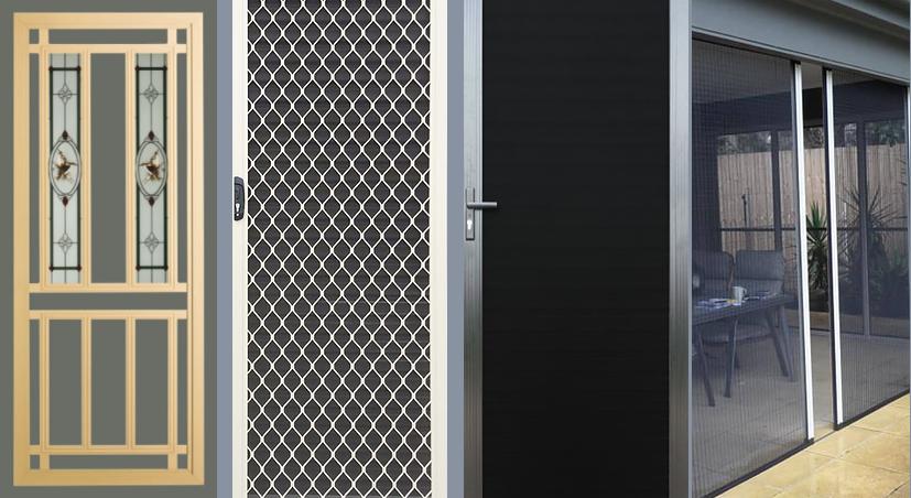 'Metro Works Doors' security screen doors by MetroWorks Doors Melbourne