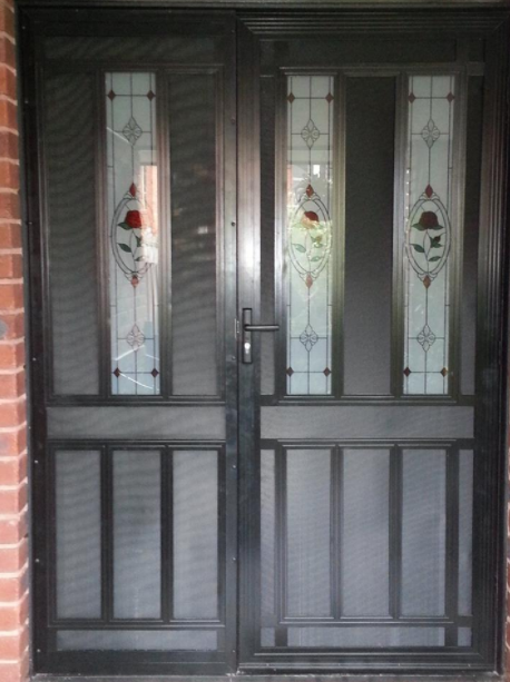 Colonial Style Security Doors by Metroworks Doors Campbellfield