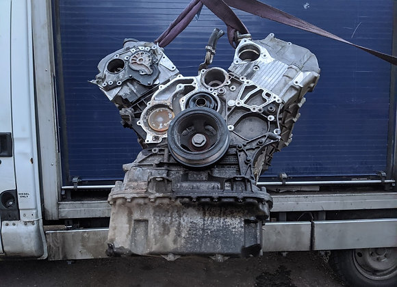 MERCEDES GL 420 X164 BARE ENGINE OM629 225KW (FOR PARTS ONLY!)