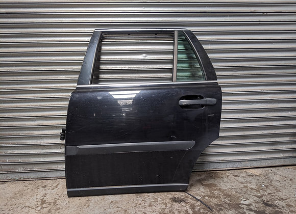 VOLVO XC90 2004 LEFT FRONT BARE DOOR BLACK