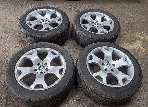 BMW X5 ALLOY WHEELS RIMS & TYRES 285/45 R19