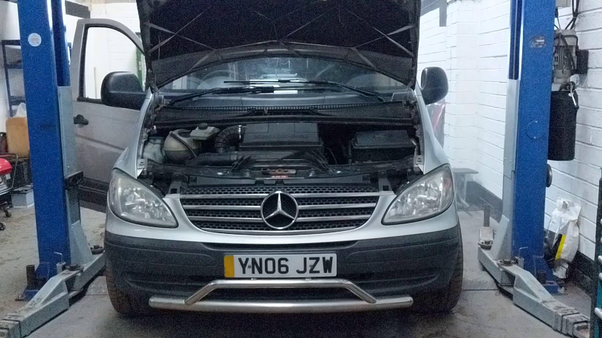 Vito engine test