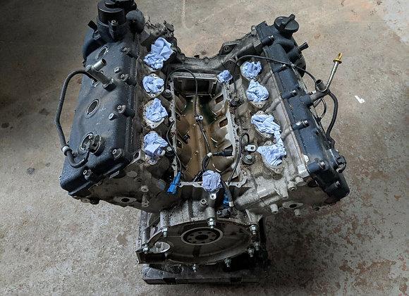 MASERATI QUATTROPORTE 2007 4.2 V8 BARE ENGINE (WITHOUT ANCILLARIES)