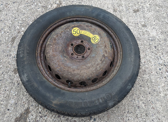 VOLVO XC90 2009 SPARE WHEEL WITH TYRE T135/85 R18