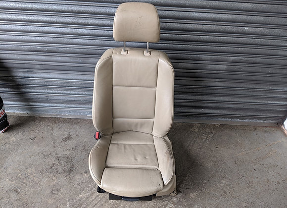 BMW X5 E53 2004 PASSENGERS FRONT LEATHER SEAT (1999-2006)