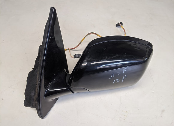BMW X5 LEFT SIDE VIEW WING MIRROR BLACK E53 1999 - 2003