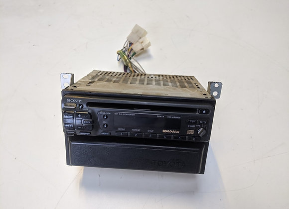 SONY RADIO PLAYER CDX-4160RDS FOR TOYOTA LAND CRUISER 1996 - 2001