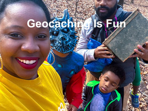 Geocaching is actually fun