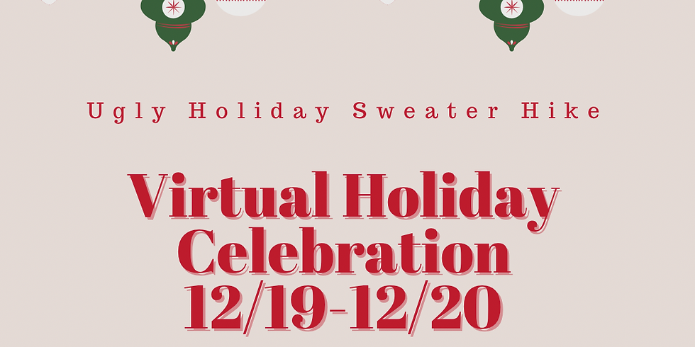 Ugly Sweater Holiday Hike (Virtual Event)