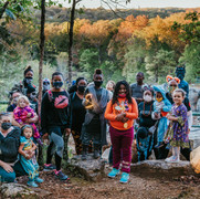 Halloween Hike Sponsored by Merrell, Live NoBox and Adventure Wipes. 35 Participanst!