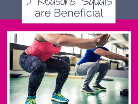 3 Reasons Squats are Beneficial