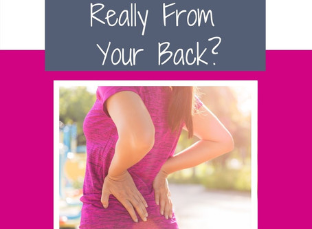 Is Your Back Pain Really From Your Back?