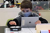 February Vacation STEAM 2 (MA) Grades 2-4: Robot play through coding