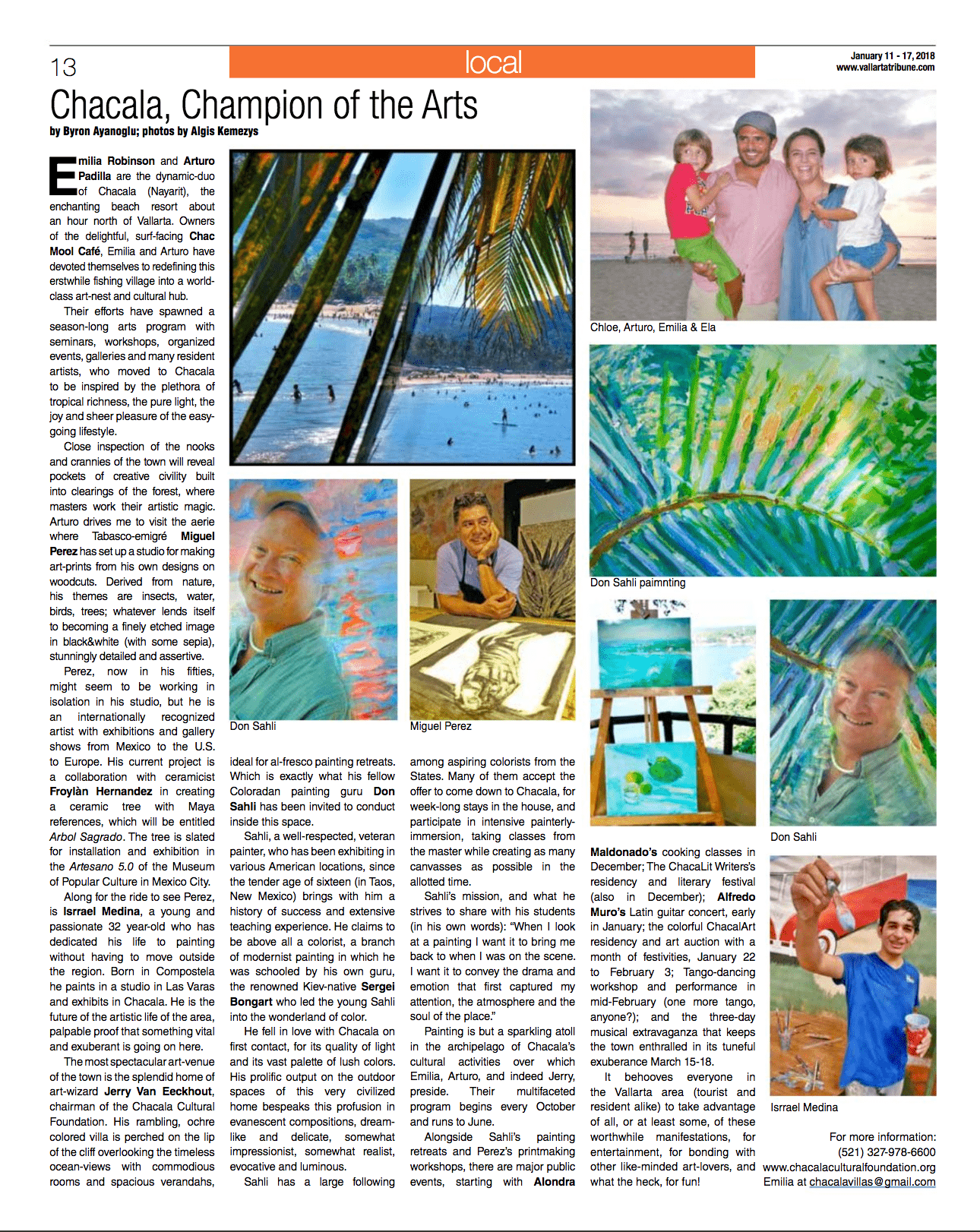 vallarta local tribune article