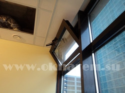 Привод дистанционного фрамужного открывания окна.