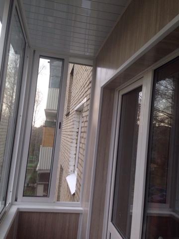 Фото Остекление, с отделкой балкона_