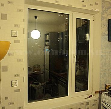 Начало ремонтных работ по модернизации окна ПВХ