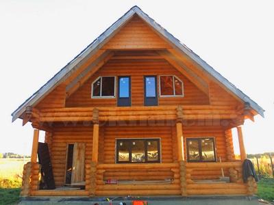 Установка окон ПВХ в деревянный дом