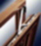 Деревянные поворотно-откидные окна