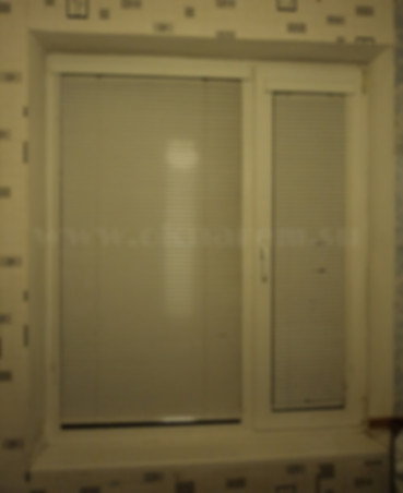 Немодернизированное окно ПВХ