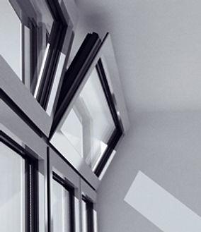 Дистанционное открывание алюминиевых окон SCHUCO TIPTRONIC