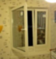 Модернизированное окно ПВХ