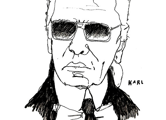 """""""Karl"""" Limited Edition A4 print"""